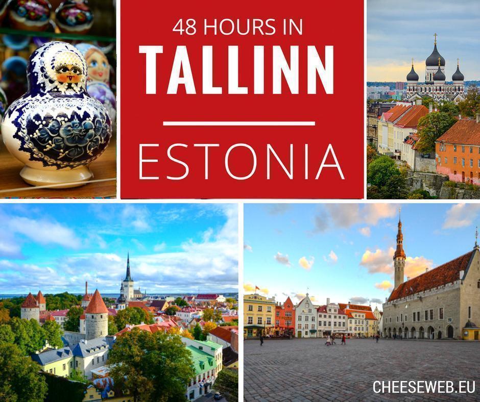 How to spend 48h in Tallinn, Estonia