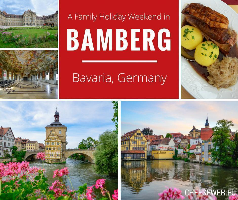 A family weekend in Bamberg, Germany