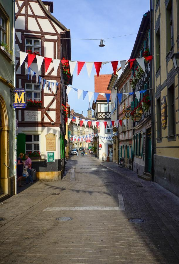 Avoid the crowds in Bamberg by getting up early