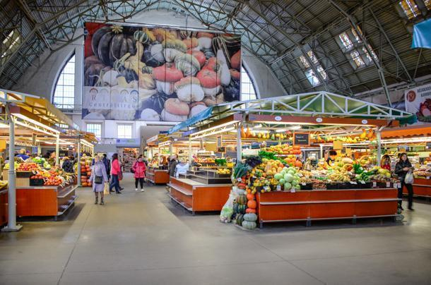 Riga's Central Market is a foodie Mecca