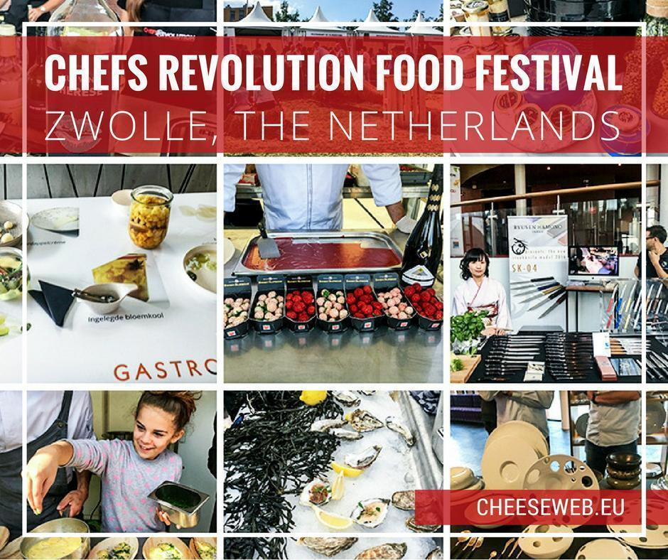 The Chefs Revolution Dutch food festival in Zwolle, Netherlands