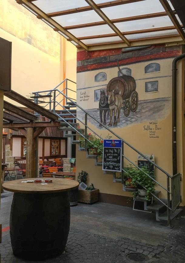 Stay in the Fässla Brewery Bed and Breakfast, In Bamberg