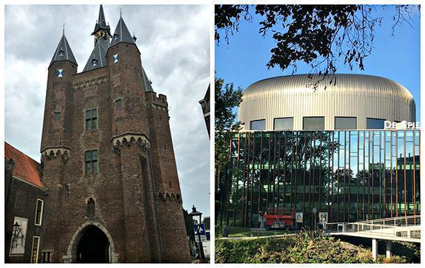 Sassenpoort and the Spiegel theatre, the venue for the Chefs Revolution