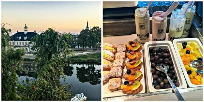De Zon Hotel, with magnificent views and a sumptuous breakfast, in Zwolle, the Netherlands.