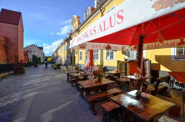 Taverna Pie Sena Dzintara Cela restaurant in Riga, Latvia