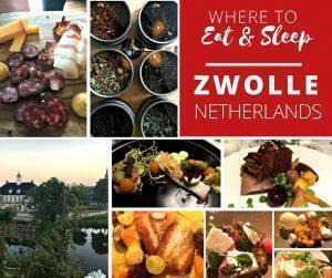 Monika shares her favourite restaurants and hotels on her foodie adventure in Zwolle, the Netherlands.