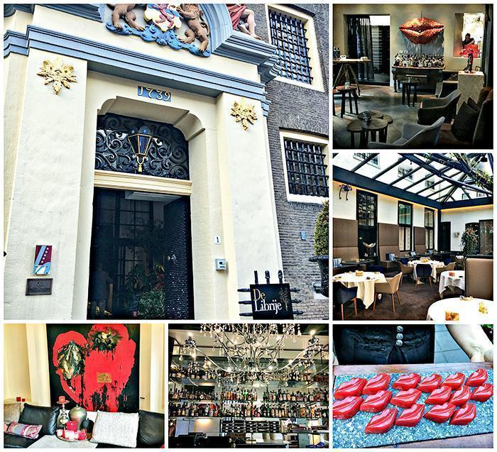 The Michelin starred De Librije Restaurant in Zwolle, Netherlands!