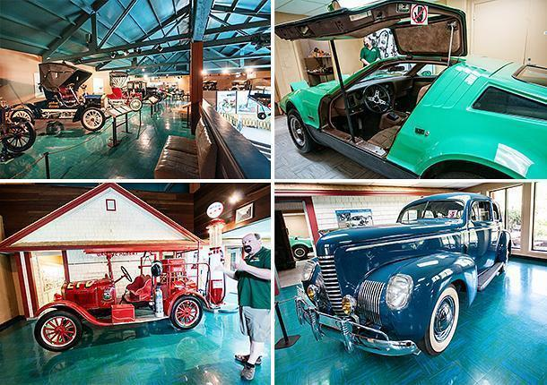 Learn about automotive history at the Antique Automobile Museum, in Edmundston