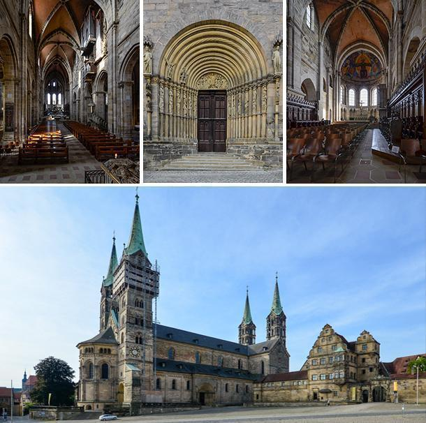 Bamberg Cathedral, also known as the Bamberger Dom St. Peter und St. Georg