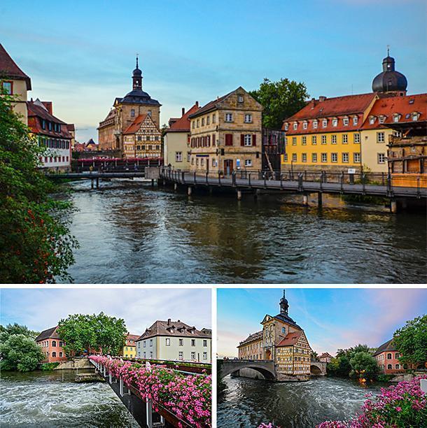 Beautiful Bamberg, in Bavaria, Germany
