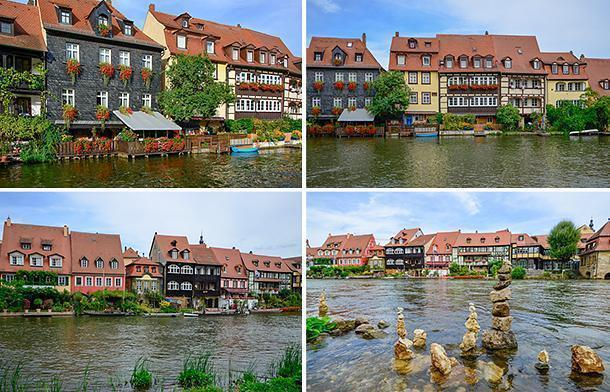 Picturesque Little Venice in Bamberg, Germany