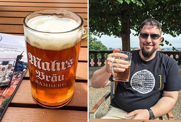 Bamberg, Bavaria is for beer lovers!