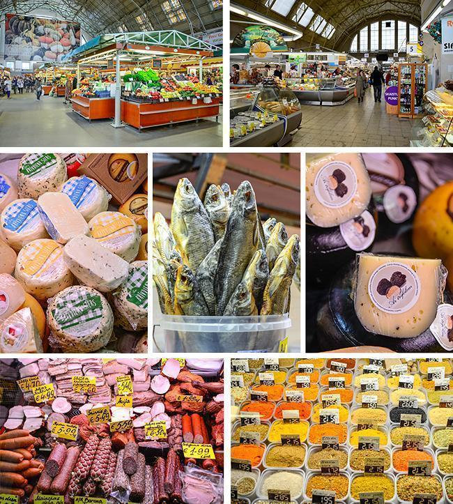 You can find everything imaginable at  Riga's Central Market