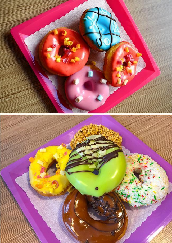 Crazy donuts at Crazy Donuts, in Riga