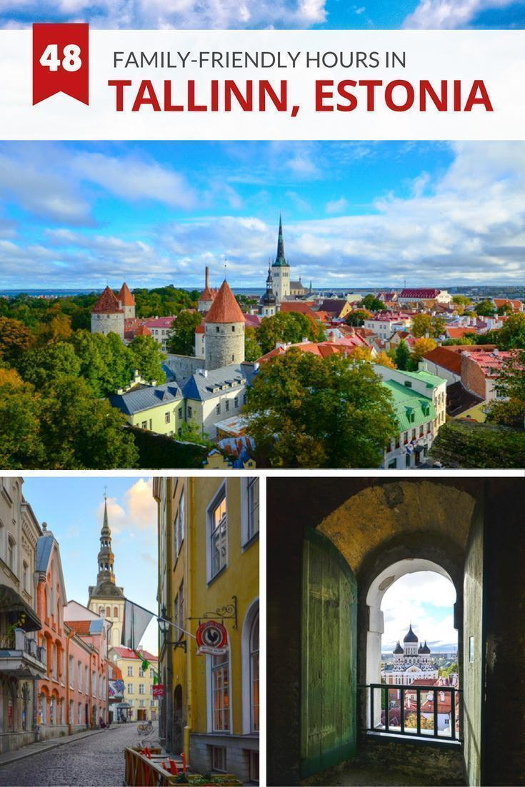 How to spend 48 family-friendly hours in Tallinn, Estonia
