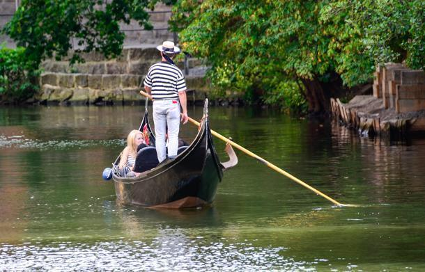 A gondola ride in Bamberg is a quiet way to slow travel