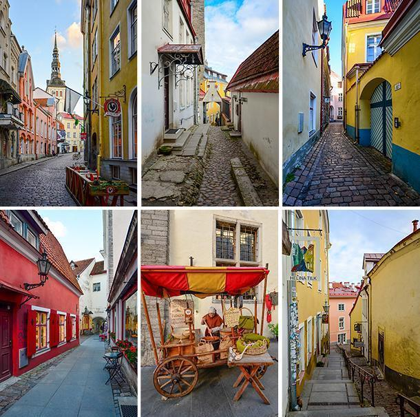 Exploring Tallinn's colourful Old Town