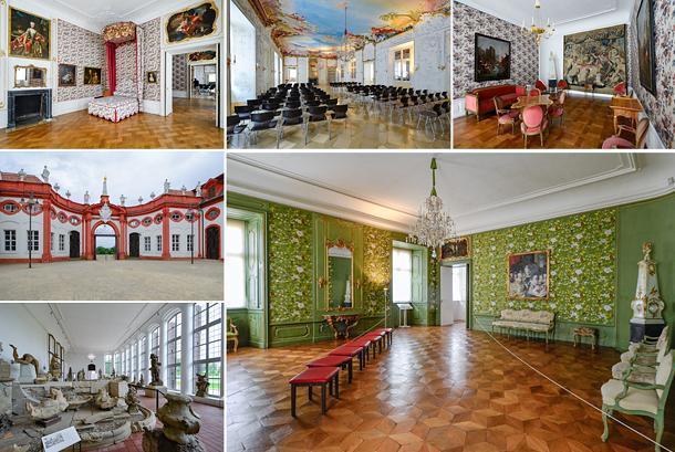 Inside Bamberg's Seehof Palace
