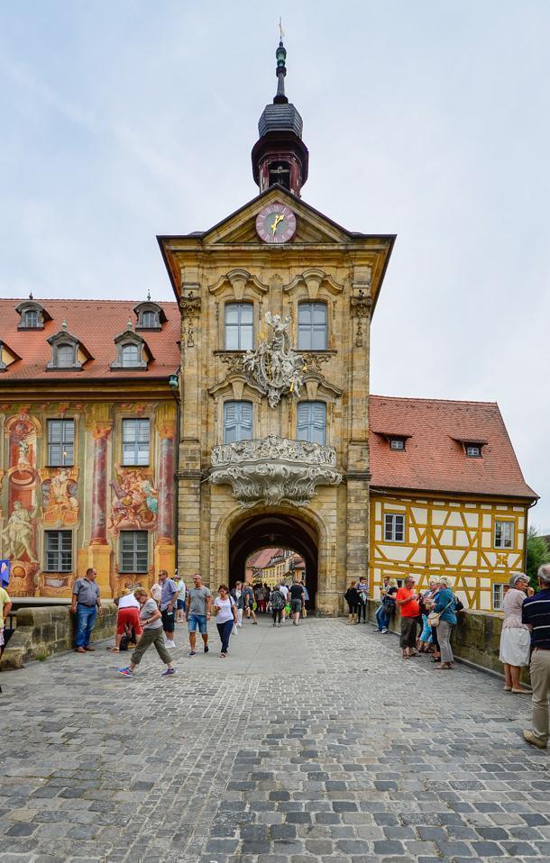 The Bamberg Town Hall, Bavaria, Germany