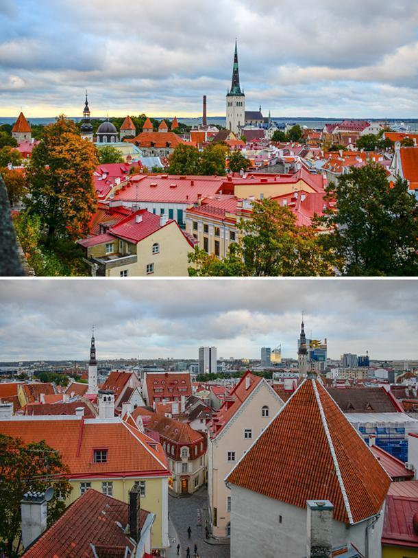 Get a bird's eye view of Tallinn from Toompea Hill