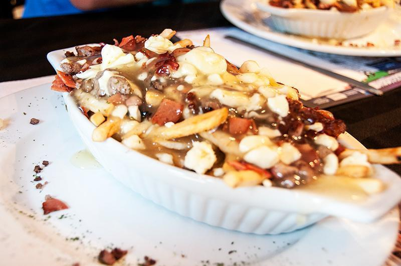 It may be a heart attack in the making but Canadians love poutine!
