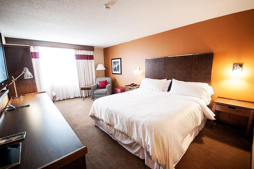 OUr spacious room at the Sheraton Four Points in Edmundston, NB