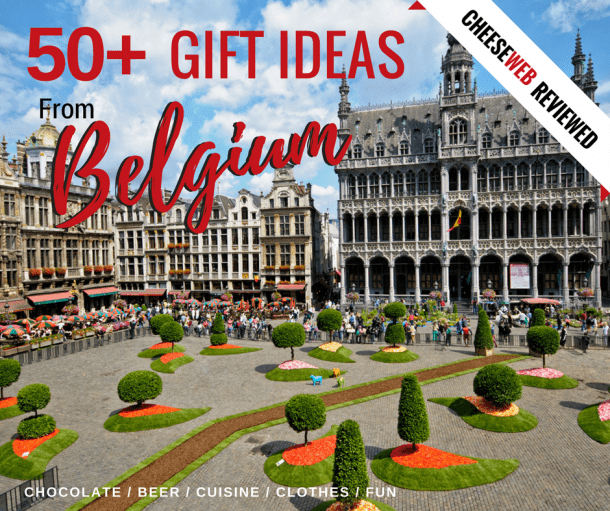 We share some of our favourite gifts from Belgium you can send to friends and family back home, via Amazon; including Belgian chocolate gifts, Belgian beer baskets and a bit of quirky Belgian humour.
