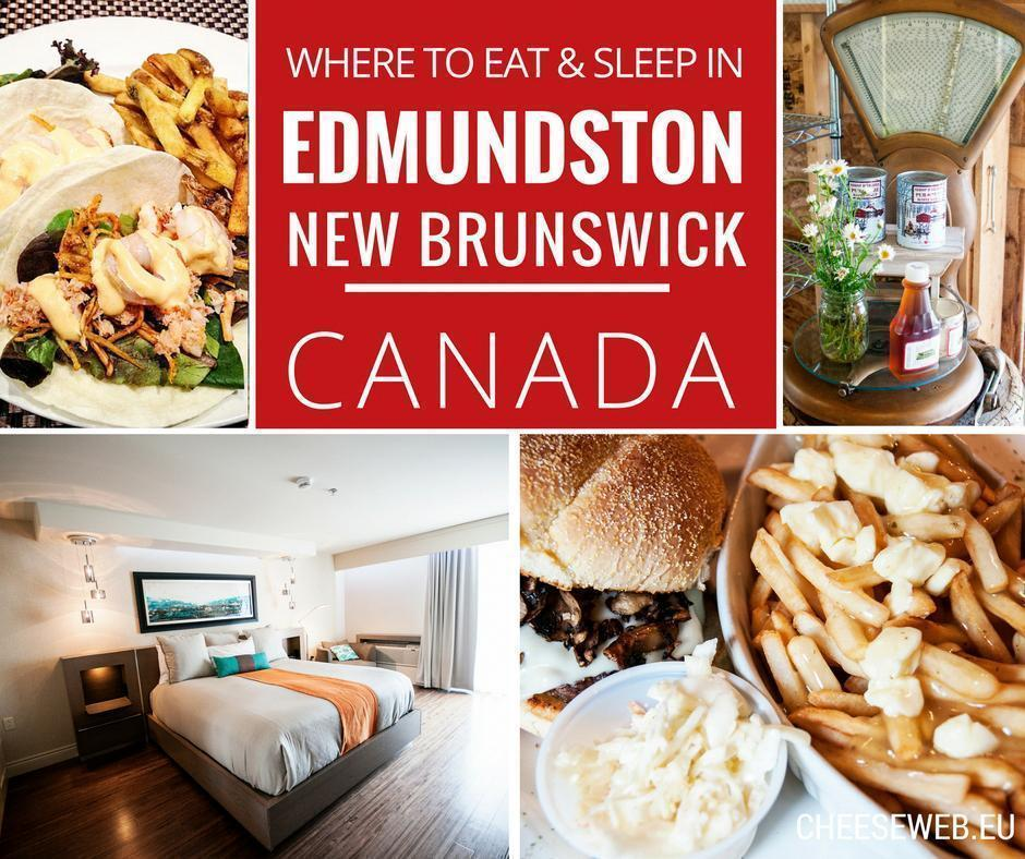 Where to eat and sleep in Edmundston, New Brunswick, Canada