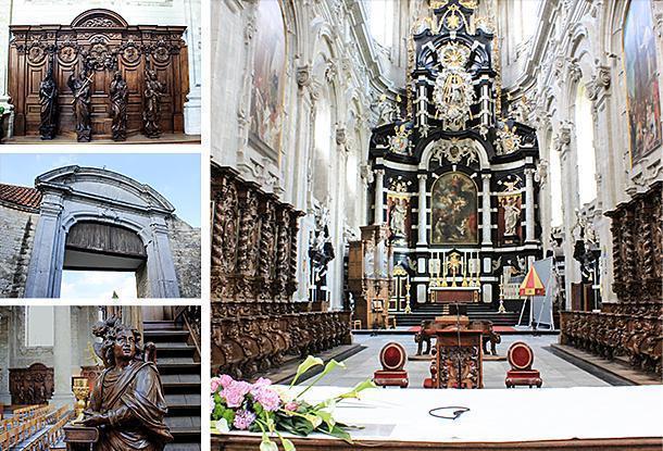 The Basilica of Saint Servatius and the abbey, Grimbergen, Belgium