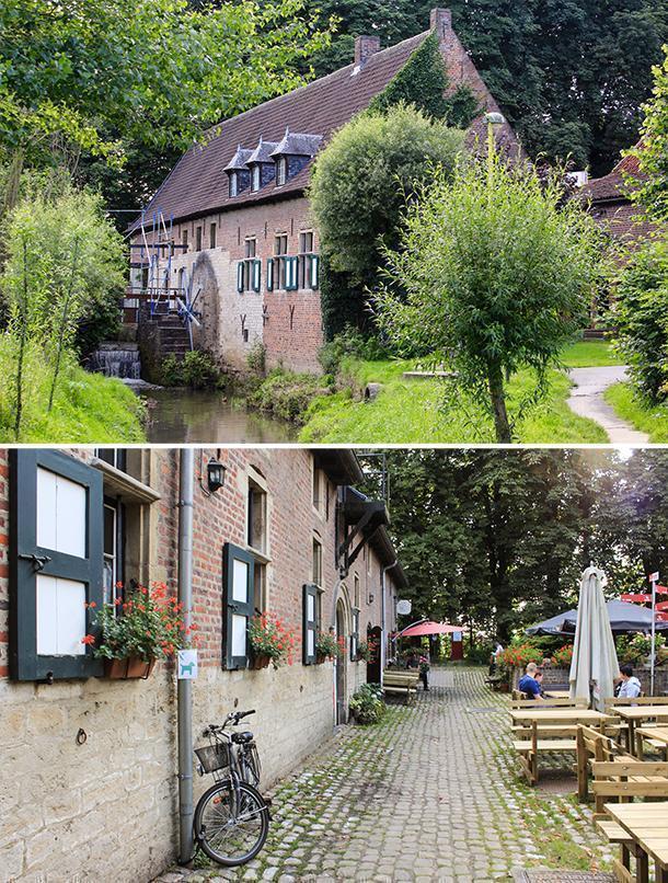 The Liermolen, a mill on the outskirts of Grimbergen, Belgium