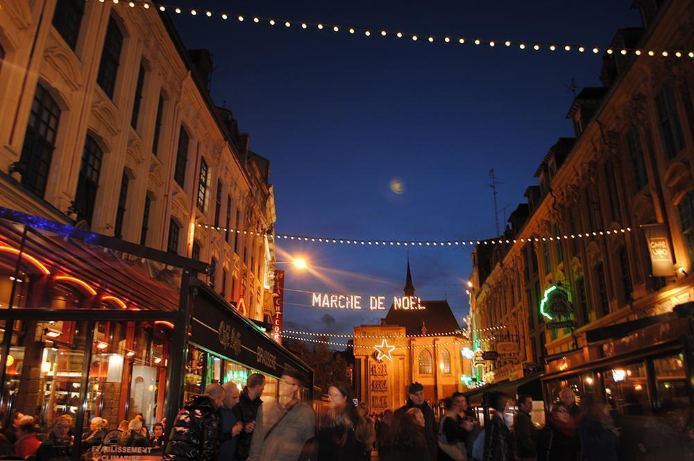 Lille, France's Marche de Noel