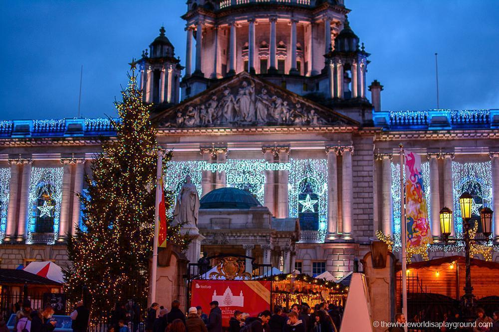 Belfast Christmas Market in Northern Ireland