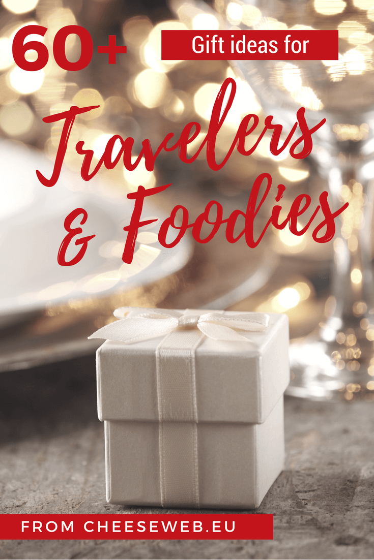 We share more than 60 of the best Christmas Gifts for travelers and foodies from Amazon including the best travel gear, cookbooks, travel books for kids, gourmet gift baskets and more.