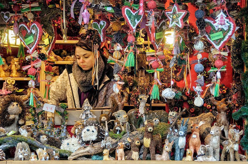 A handcrafted Christmas at the Bolzano, Italy Christmas Market in South Tyrol