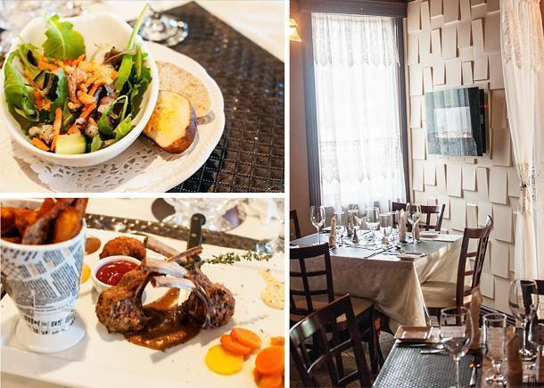 Chantal's Steakhouse is a fine dining restaurant with a European atmosphere in Edmundston
