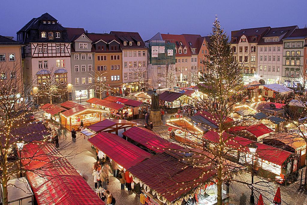 Strasbourg, France Christmas Market (via Wiki)