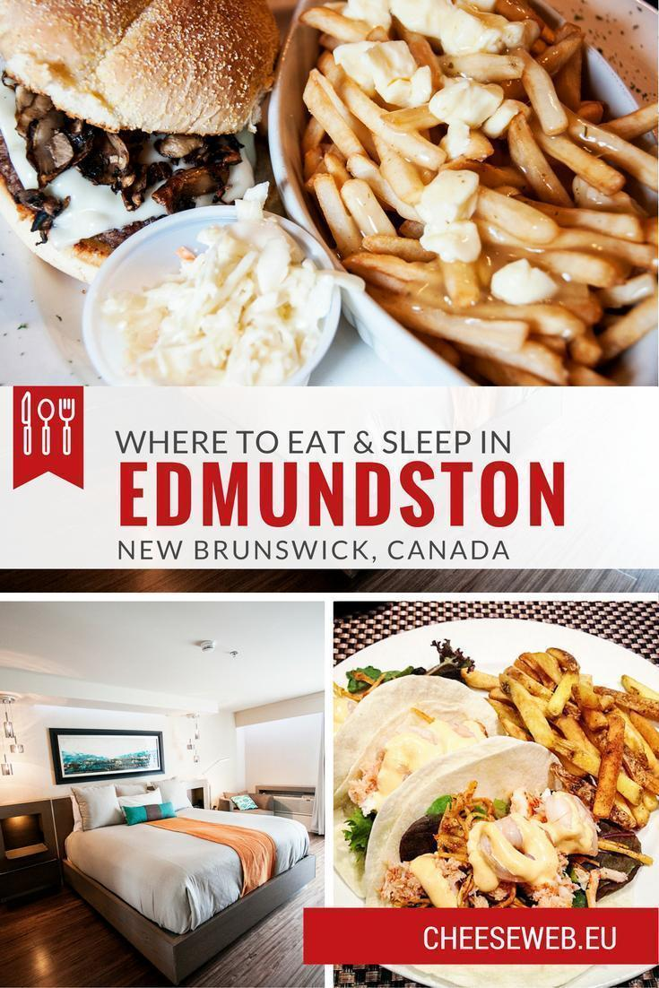 We share our top restaurants, hotels, and foodie destinations in Edmundston and Madawaska County, New Brunswick, Canada.
