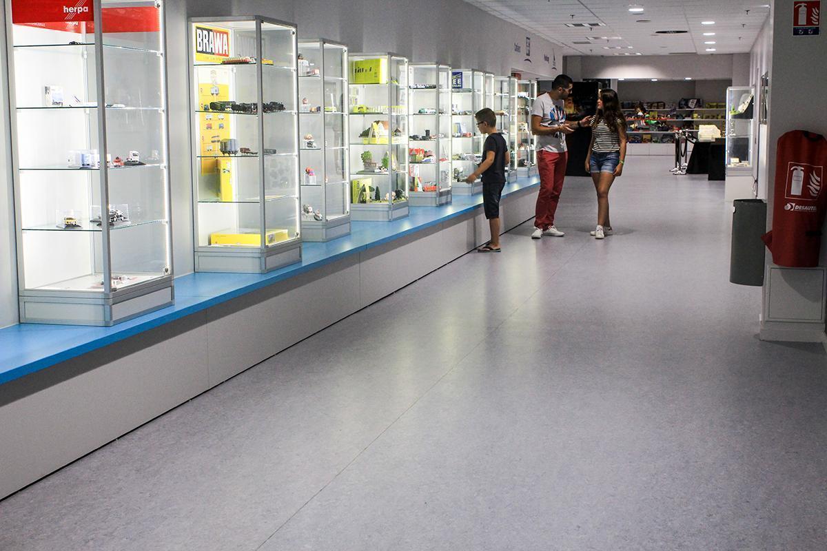 Inside the Mini World Exhibition Hall