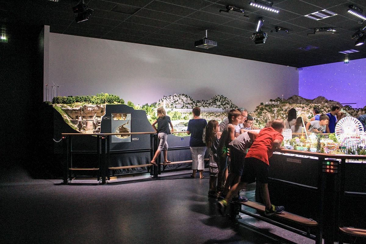 Inside Mini World Lyon - where you can visit an entire world indoors