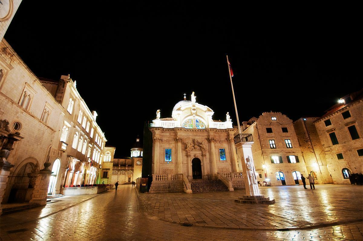 Dubrovnik, Croatia is spectacular at night and quiet in the off-season