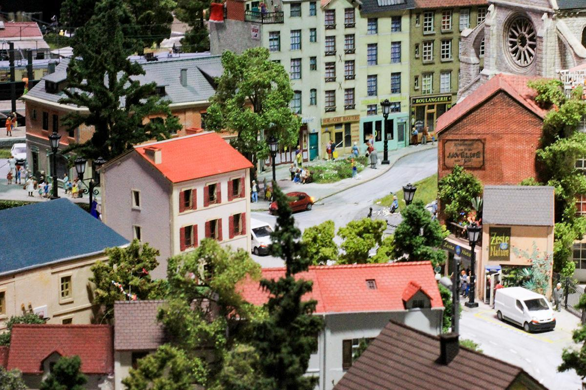 Welcome to the countryside village at Mini World Lyon