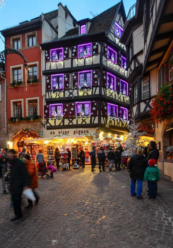 Who can resist the charm of Colmar at Christmastime?