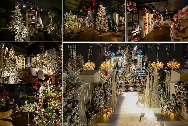 A Christmas wonderland at Ecliss, Milan