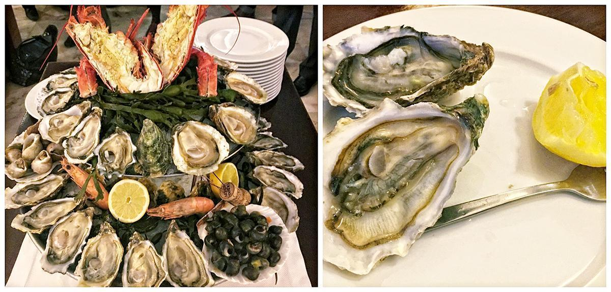 Loved the oysters at Restaurant Francois, in Brussels, Belgium