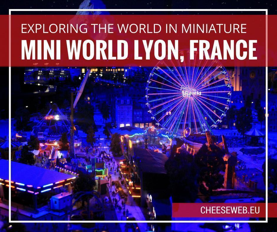 Mini World Lyon, France - a world in miniature