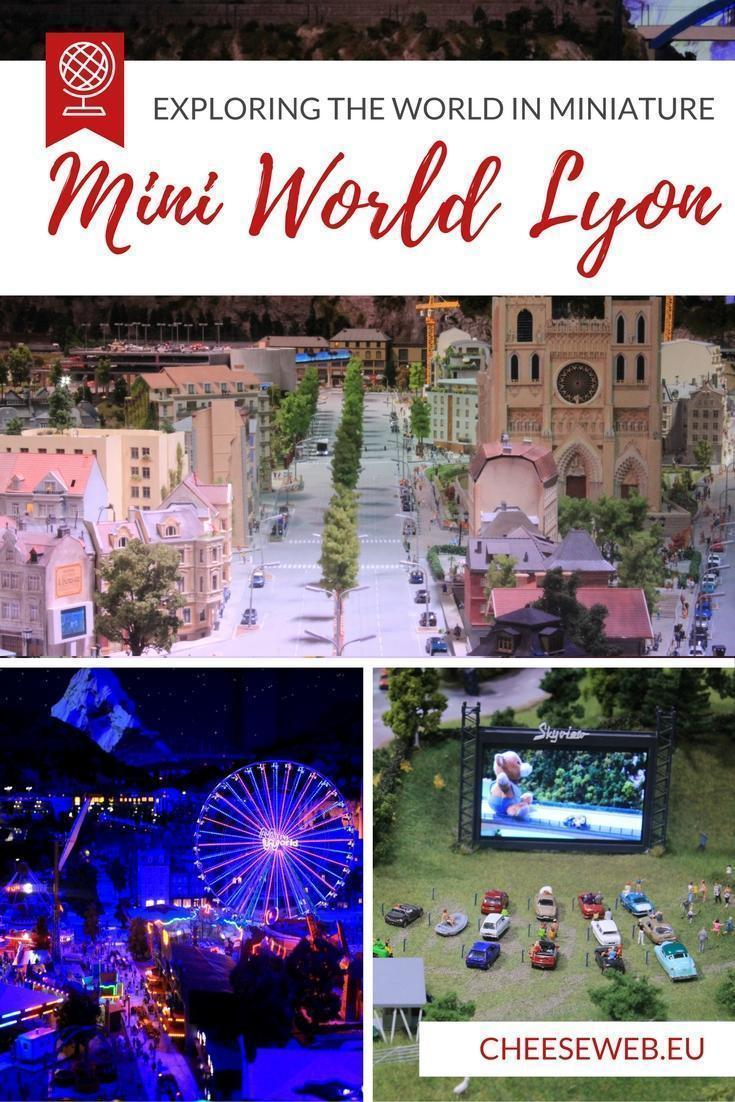 Adrian discovers the magical Mini World in Lyon, France where visitors can explore an entire happy world under one roof.