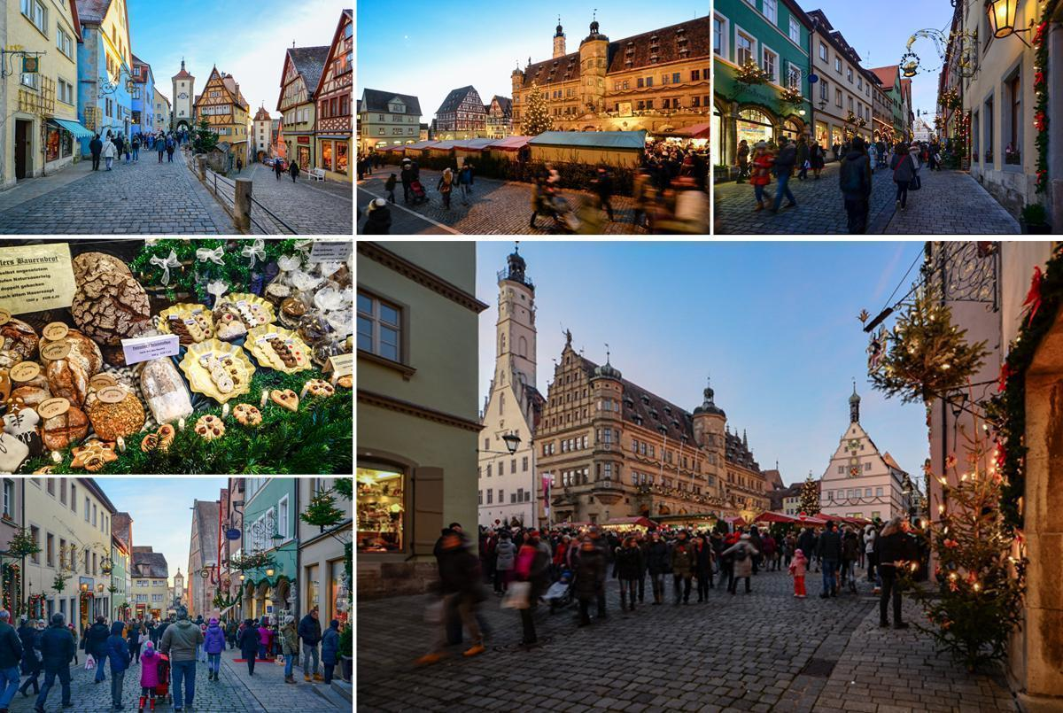 Rothenburg's Christmas Market is one of the best in Europe