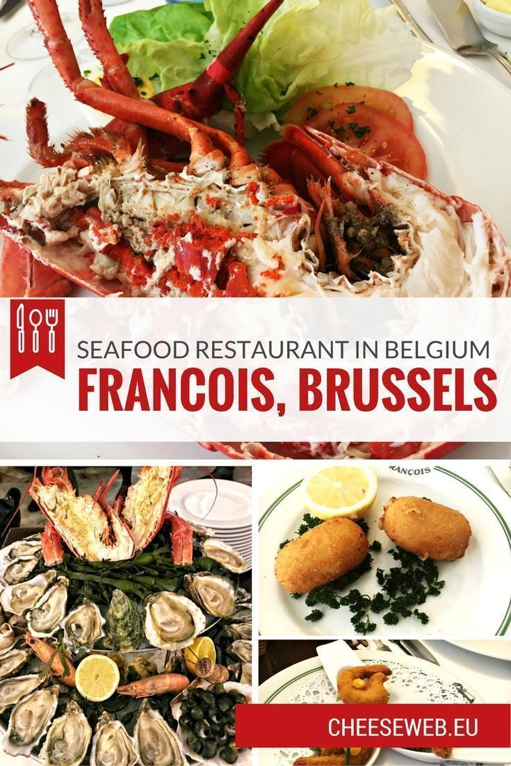 Monika reviews the fine-dining Restaurant Francois, in Brussels, Belgium's seafood capital, Place Sainte Catherine, to discover their Christmas menu.