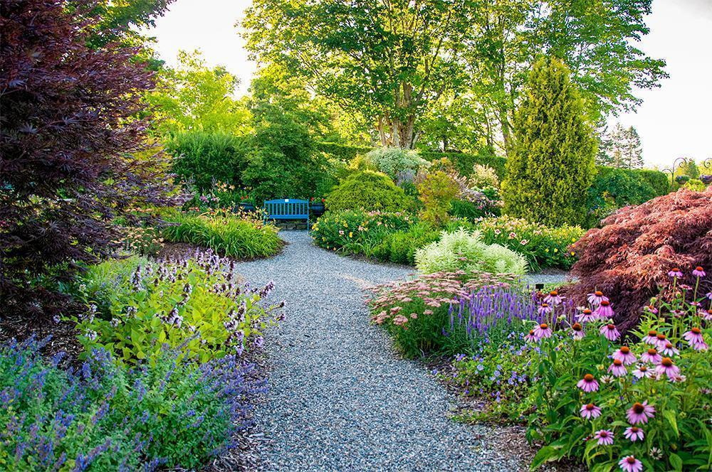 Kingsbrea Gardens in St. Andrews, NB, is one of the top rated gardens in Canada
