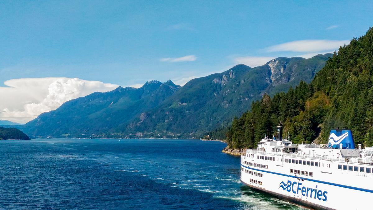 Take a ride on the BC Ferries for views like this one of Horseshoe Bay, Vancouver, BC.